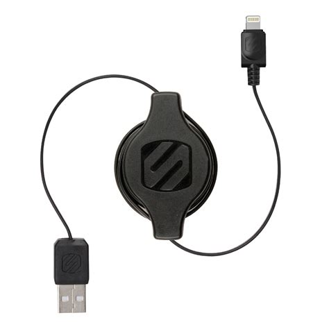 Griffin Retractable Lightning And Micro Usb Cable Black retractable lightning to usb cable home decor takcop
