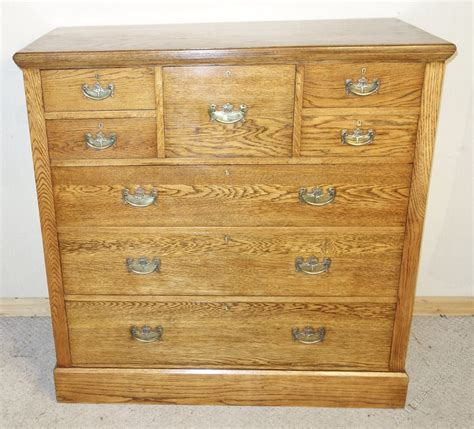 Oak Chest Drawers by Large Oak Chest Of Drawers Antiques Atlas
