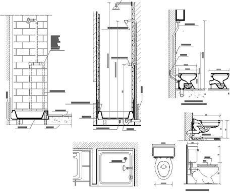 schema idraulico bagno impianti idraulici acqua dwg impianto idraulico bagno