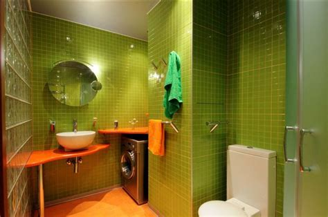 green and orange bathroom green and orange bathroom greenorange home pinterest