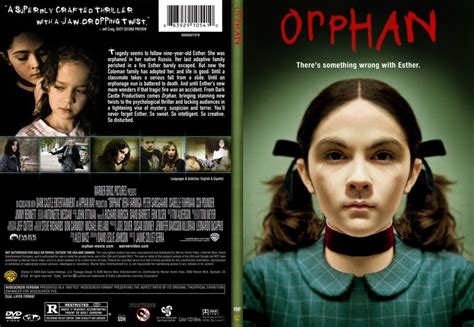 orphan film plot orphan dvd covers bluray covers and cover art