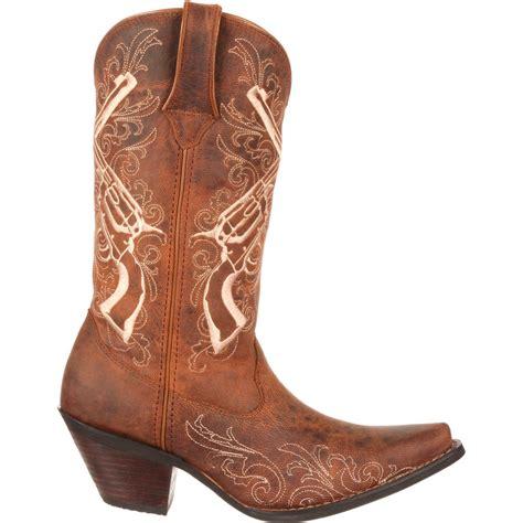 durango boots s crush by durango boot s crossed guns western boot