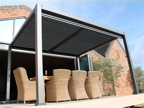 extra large gazebo grey aluminium roof shutters