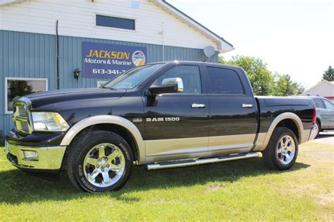 top of the line dodge ram pin by jackson motors on sold 2011 dodge ram laramie 1500