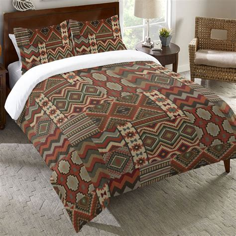 rust coverlet rust southwest duvet cover twin