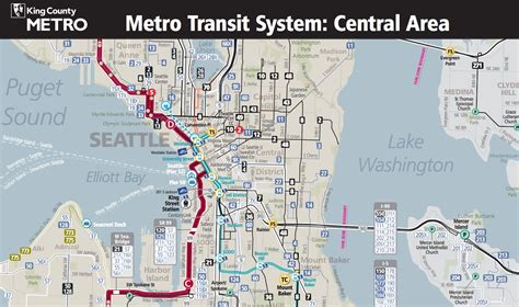 seattle map transportation seattle adopts frequent map business insider