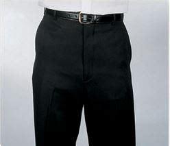 comfort waist dress pants for men flat front dress pants with comfort waist for men black