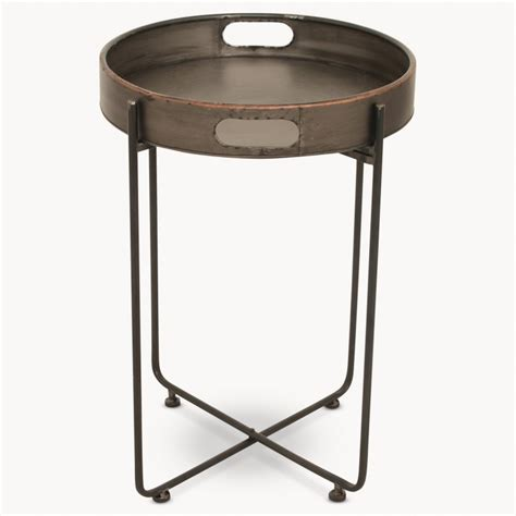 Metal Side Table Granville Metal Side Table Tables One World