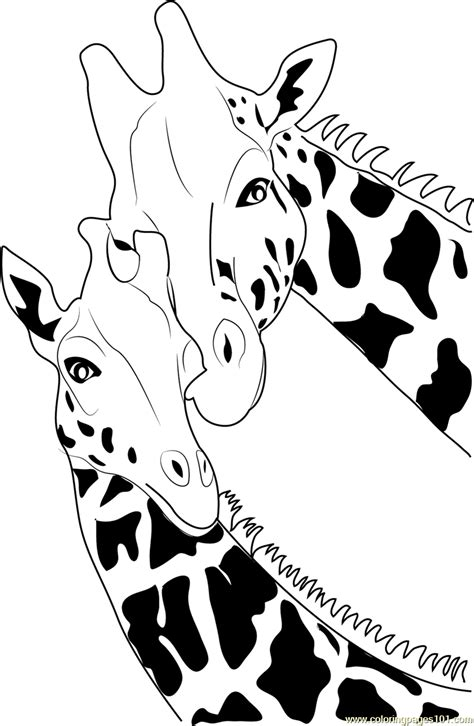 giraffe coloring pages pdf giraffe coloring page free giraffe coloring pages