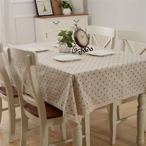 country style floral printed table covers kitchen dining