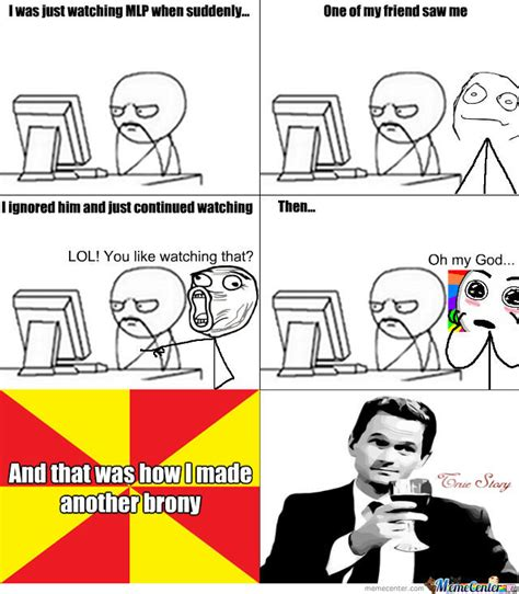Brony Meme - how i made others a brony by irontroll meme center