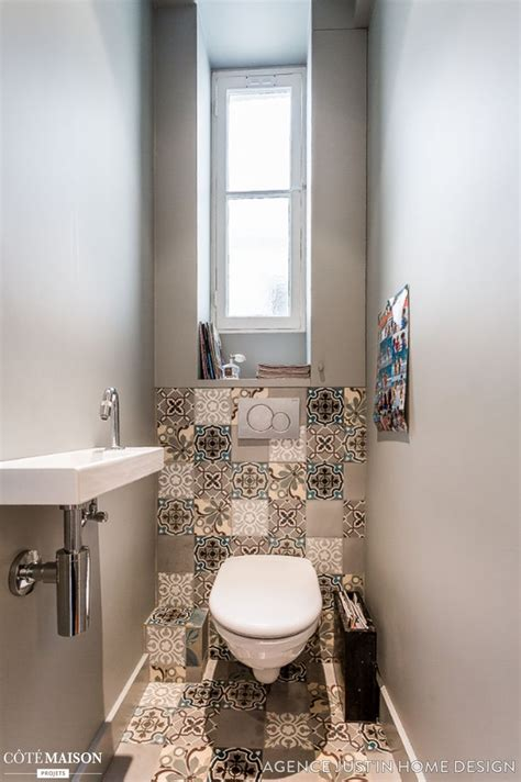 Salle De Bain Idee 1106 by Wc Suspendu Carrelage Ou Peinture Amazing Toilette