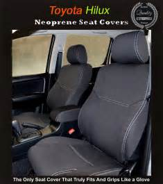 Ebay Car Covers Reviews Front Seat Covers Back Map Pockets Toyota Hilux Sr