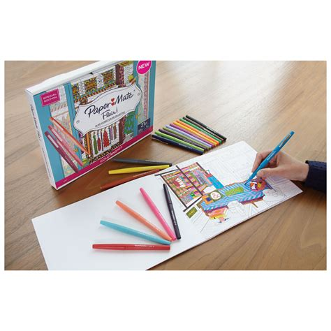coloring book kits for adults flair coloring kit by paper mate 174 pap1989556