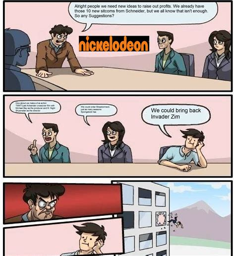 Boardroom Suggestion Meme Maker - nickelodeon board room meeting boardroom suggestion