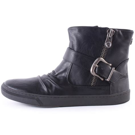 blowfish pymm womens ankle boots in black
