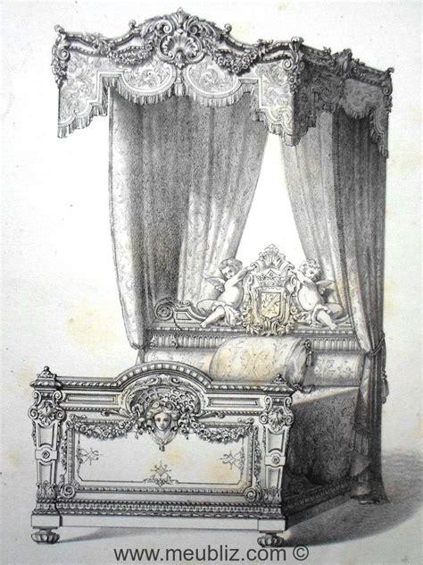 lit 224 la duchesse louis xiv meuble de style