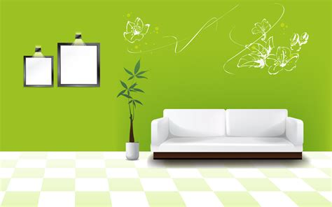 Sofa Warna Hijau green wall wallpapers and images wallpapers pictures photos