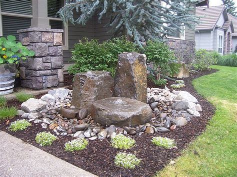 Garden Rock Features Best 20 Rock Yard Ideas On Yard Rock Pathway And Yard Design
