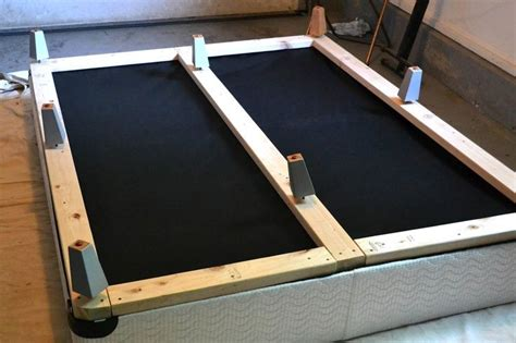 convert box into platform bed search diy