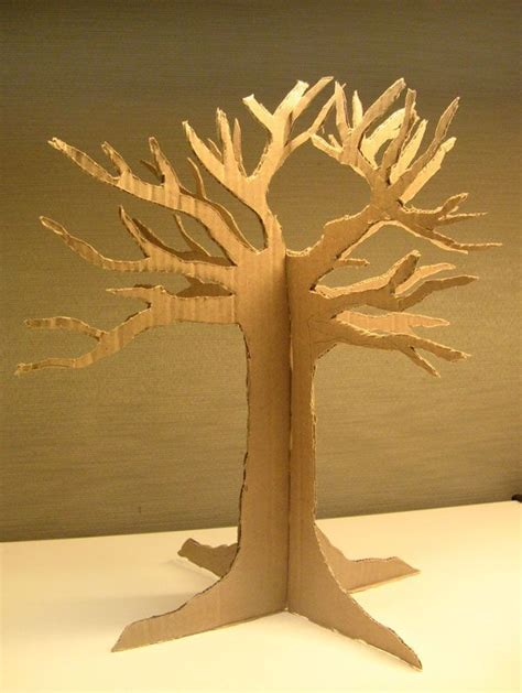 best 20 cardboard tree ideas on paper tree