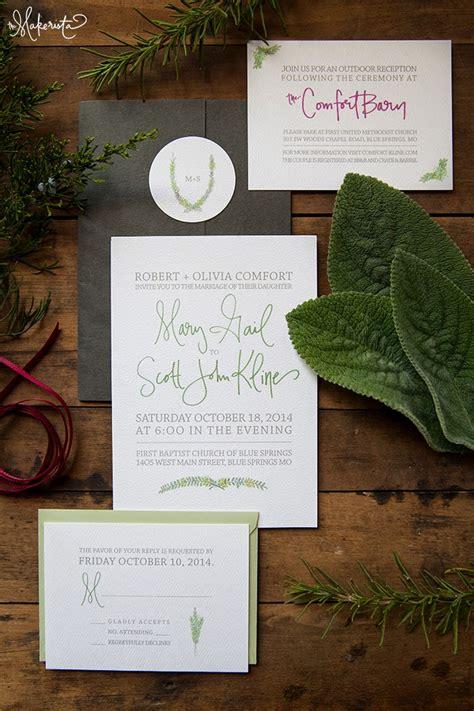 Wedding Invitations Ta by A Handmade Wedding Invitation The Makerista