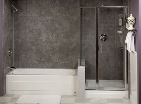 separate tub and shower options re bath of illinois
