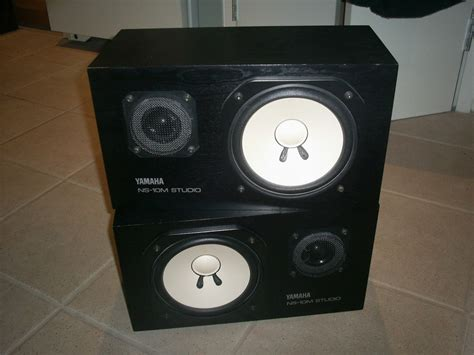 Monitor Ns yamaha ns 10m studio monitors industry standard speaker used for mixing for sale canuck