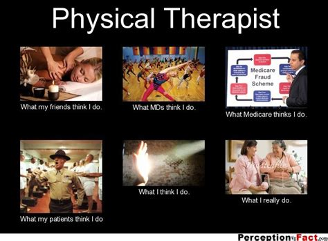 Massage Therapist Meme - physical therapist what people think i do what i