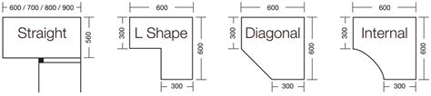 What To Do With Corner Kitchen Cabinets cabinet sizes blok designs ltd