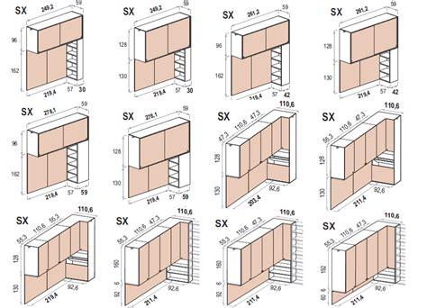 armadio misure le misure degli armadi dielle
