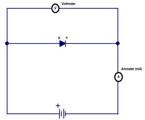 forward circuit diagram forward biased circuit diagram circuit and schematics