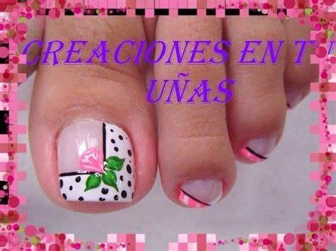 imagenes sobre uñas pintadas 17 mejores ideas sobre u 241 as decoradas para pies en