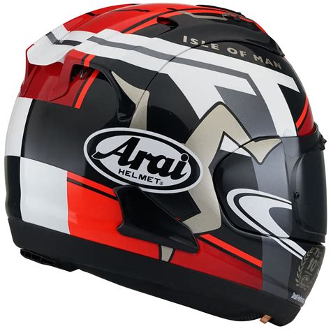 Arai Rx7x Isle Of Iom Tt 2017 Limited Edition arai rx 7v 2018 iom tt helmet