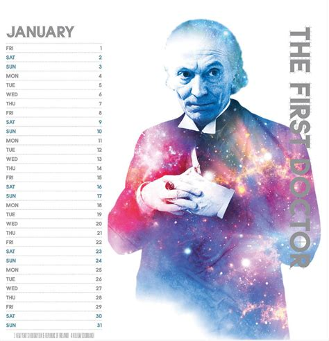 Doctor Who Desk Calendar by The Official Doctor Who 2016 Desk Easel Calendar