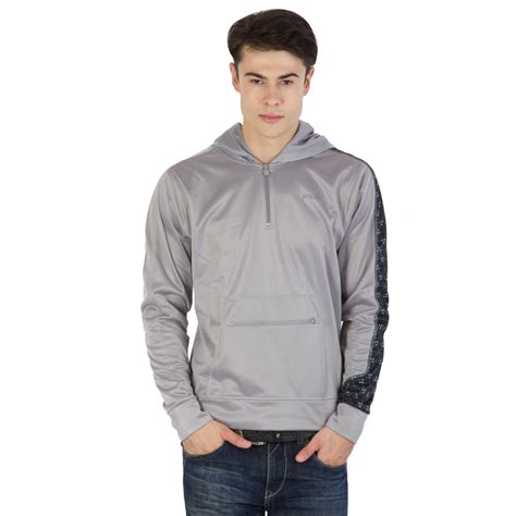 Fila Grey buy fila mens grey and black sleeve sweatshirts