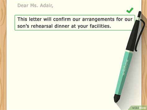 Confirmation Letter Um Ein Best 228 Tigungsschreiben Aufsetzen Wikihow