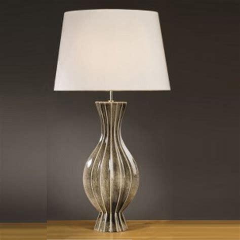 Black Table Vase Elstead Lighting Ribbed Vase Black Gold Table L