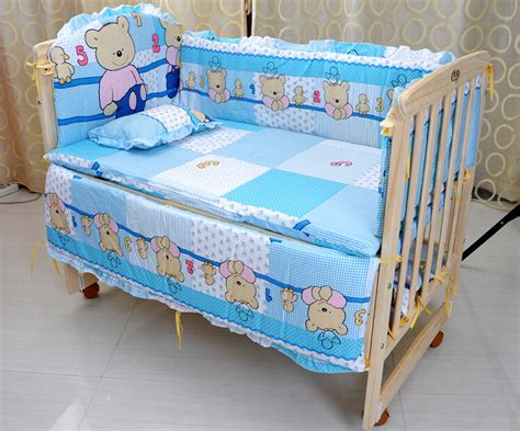 Aliexpress Com Buy Baby Crib Bedding Set 5 Pcs Cotton Buy Buy Baby Crib Sheet