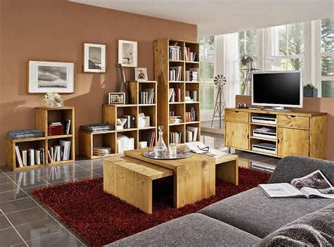 wohnzimmermöbel massivholz wohnzimmerm 246 bel vollholz m 246 belideen