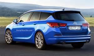 Opel Sports Opel Astra Sports Tourer 2016 Rendering 1 2