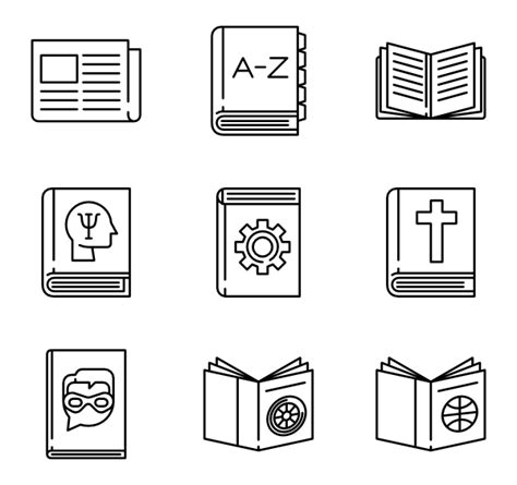 Uws Library Unit Outlines by 5 Reading Icon Packs Vector Icon Packs Svg Psd Png Eps Icon Font Free Icons