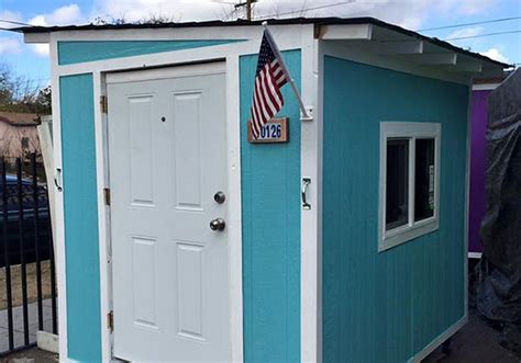 war on tiny houses for homeless in la tiny house blogs