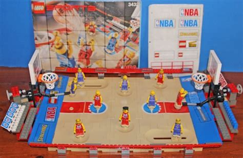 Football Court Lego lego nba figure guide gallery checklist deck cards