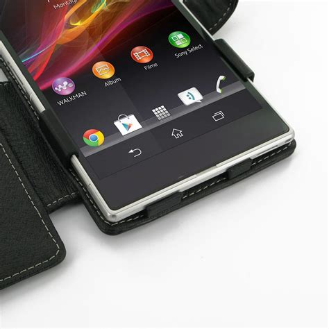 Sony Xperia Z Ultra Flip Cover Leather Fs Casing Bumper Armor sony xperia z ultra leather flip cover pdair sleeve pouch holster
