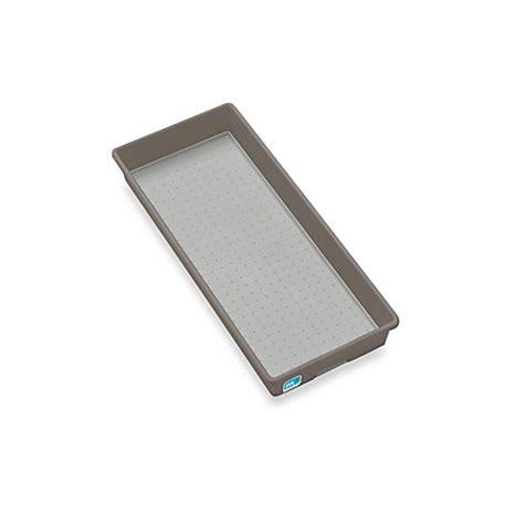 6 x 15 drawer organizer madesmart 6 inch x 15 inch drawer organizer in grey