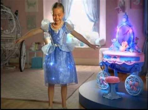disney cinderella vanity light  dress commercial youtube