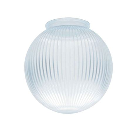 l globe shade regolit pendant l shade globe base white glass
