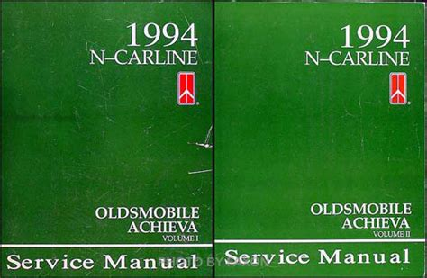 vehicle repair manual 1996 oldsmobile achieva free book repair manuals 1994 oldsmobile achieva shop manual set 94 original repair service books s sl sc ebay