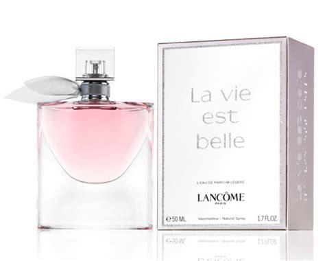 vie parfum lancome la vie est l eau de parfum legere new fragrances